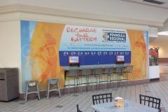 Mall Wall wrap